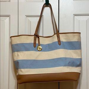 Tommy Hilfiger Striped Tote Bag